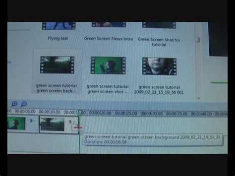 Windows Movie Maker Green Screen Tutorial | green screen tutorial for windows movie maker youtube