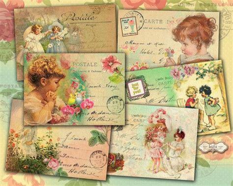 printable vintage greeting cards vintage children greeting cards printable cards