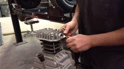 harbor freight 21 gallon compressor repair how to wont compress 60 psi model 94667 part 3