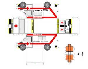 2 Bedroom Loft Floor Plans Ambulancia Cruz Roja Espa 241 Ola Armables Varios Pinterest