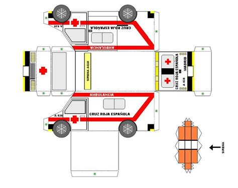 Sims 3 4 Bedroom House Design by Ambulancia Cruz Roja Espa 241 Ola Armables Varios Pinterest
