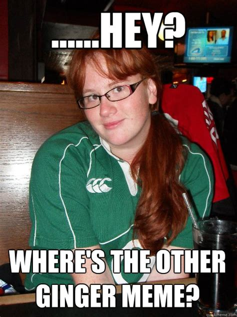 Ginger Memes - hey where s the other ginger meme misc quickmeme