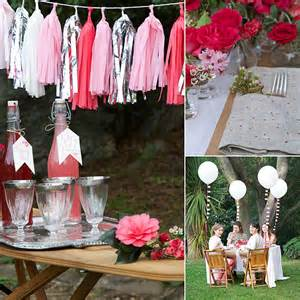 Table Decoration Ideas For Parties by Diy Romantic Party Table Decorations Popsugar Home