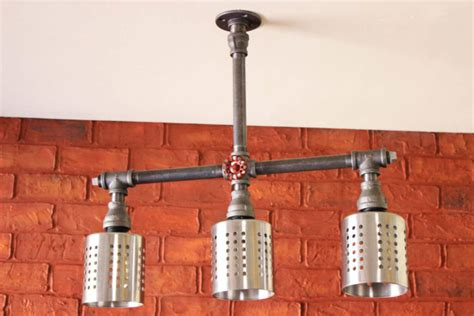 industrial pipe light fixture 35 industrial lighting ideas for your home