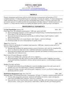 Resume Sles For Managers by Commercial Managers Resume Sales Management Lewesmr