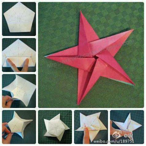 Or Am I Origami - etoile 5 branches falten origami origami