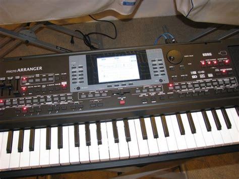 Keyboard Korg Micro Arrangger test korg microarranger entertainer keyboard amazona de