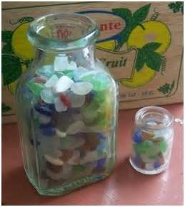 Sea Glass Bottles Ideas Collection Sea Beaches Glasses Projects Sea Glasses Crafts Ideas Rocks Tumblers Glasses