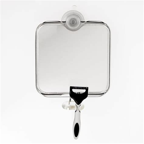 Fogless Bathroom Mirror Oxo Grips Suction Fogless Mirror In Shower Mirrors