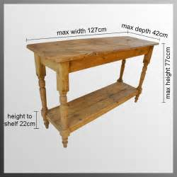 antique tables narrow pine display narrow two tier table antiques atlas