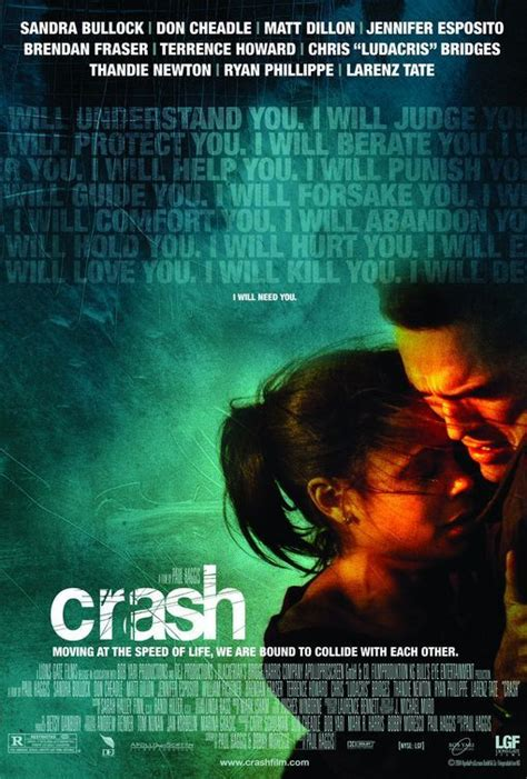 themes in film crash crash did you see that one