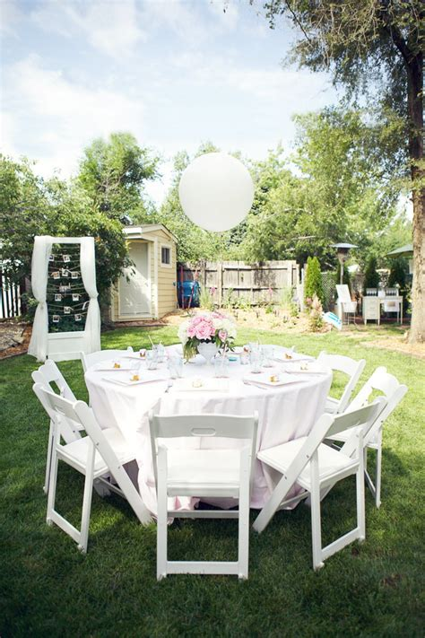 Backyard Bridal Shower Ideas Backyard Bridal Shower Ideas Marceladick