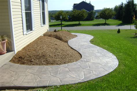 sted concrete walkway decorative concrete walkway