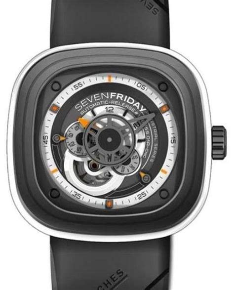 Best Price Sevenfriday P3b 01 Series Best Clone 11miyota 82s7 Matic sevenfriday black and white p3 03 inspiration limited edition watches and