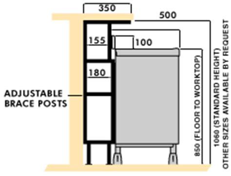 standard bar top dimensions imc bartender stainless steel modular bar system