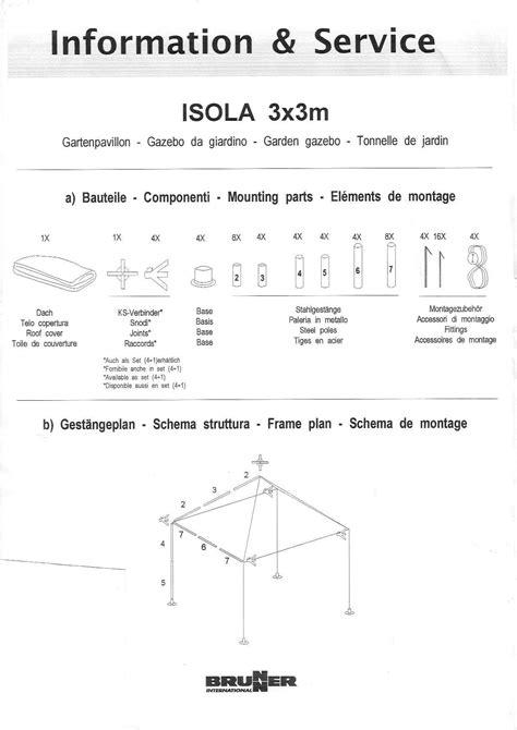 aufbauanleitung pavillon 3x3 manual instrucciones lavadora crolls rt 9811