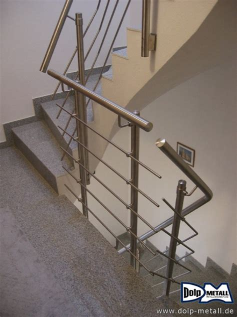 treppengeländer system bauschlosserarbeiten treppengel 228 nder edelstahl gs1