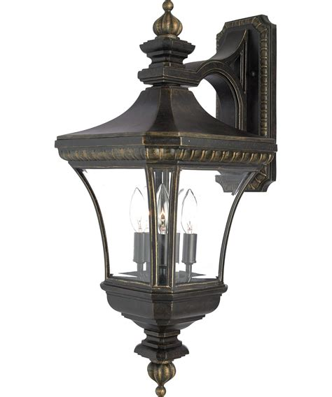 Quoizel Sconces quoizel de8961 3 light outdoor wall light capitol lighting 1 800lighting