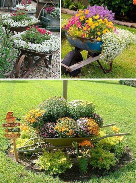 diy backyard garden easy container garden ideas diy projects for front yard