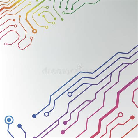pattern energy card abstract colorful circuit board background circuit lined