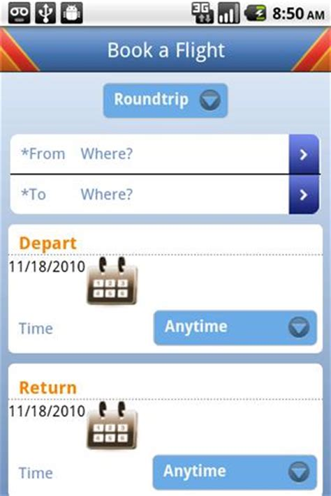 southwest airlines app for android released