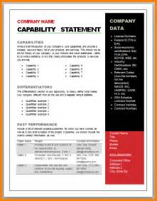 company capability statement template 6 capability statement template newborneatingchart