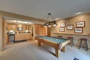 how to decorate a room with a pool table ledge shelf decorating ideas basement traditional with