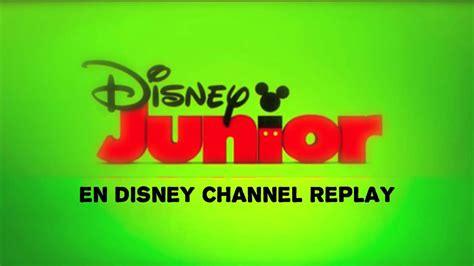 disney replay on the disney channel is now on the air with disney junior en disney channel replay cortinilla prueba