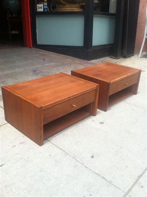 Low Nightstands by Sold Low And Behold Low Modern Stands