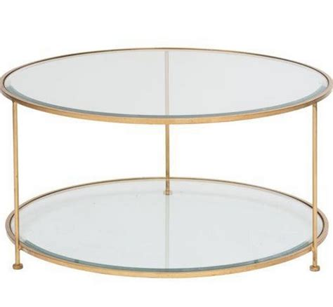 gold wood coffee table rollo gold coffee table