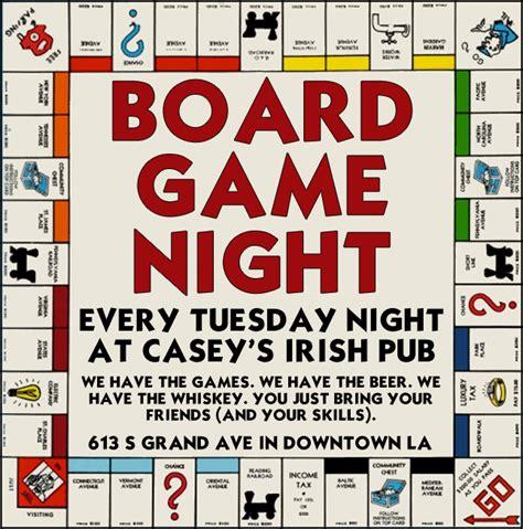 board game night flyer www pixshark com images