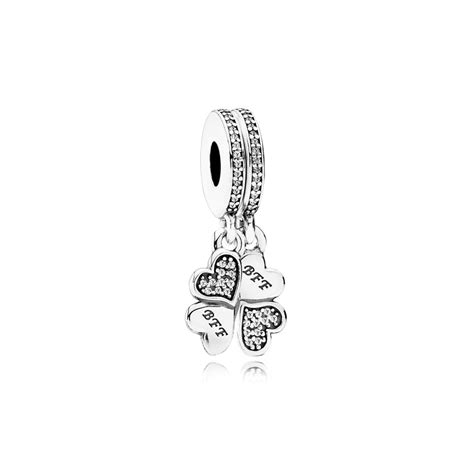 best friend pandora charm best friends forever pendant charm 791949cz greed