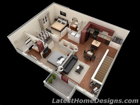 home design plans for 1000 sq ft 3d luxury 1000 square foot 2bhk 3d house floor plans india