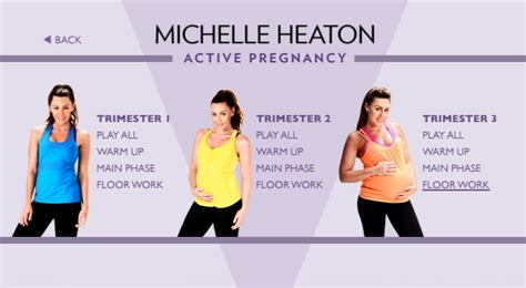 heaton active pregnancy dvd review with