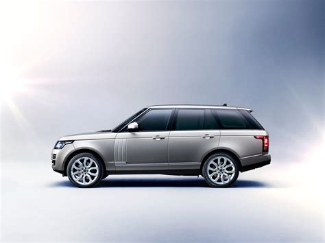 range rover side view silver 2013 range rover exterior side view eurocar