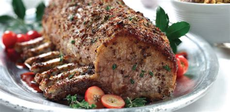 Best Rack Of Recipe by Recipe For Pork Loin Food For Health Recipes