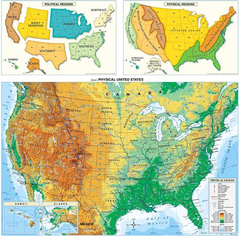 physical map of usa with states usa physical map us physical map america physical map