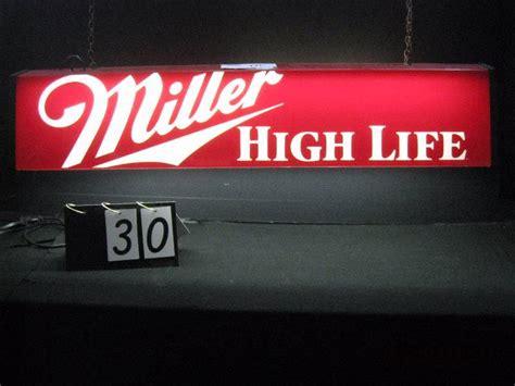 miller pool table light miller high life billiards pool table light 48 quot w x 9