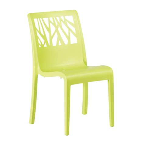 chaise vert anis chaise vegetal vert anis