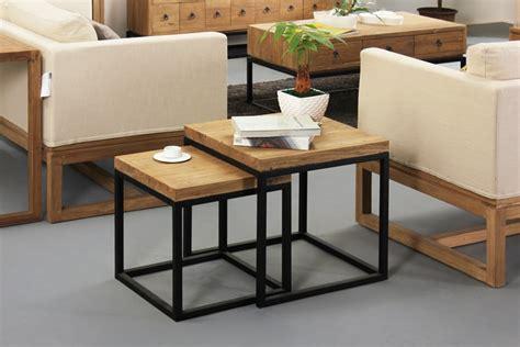 lade da salotto moderne nordic ferro madeira canto poucos lado alguns mesa lateral