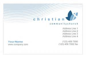 christian business cards templates free christian ministry print template pack from serif