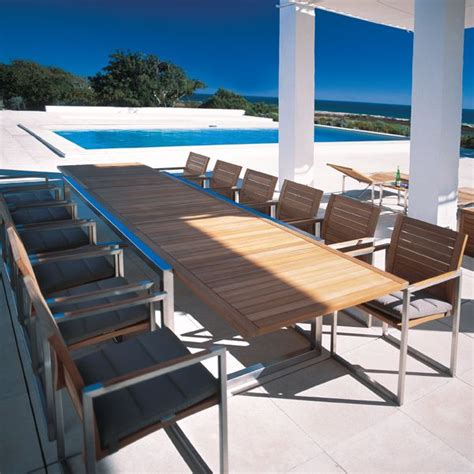 ninix extendable dining tables by royal botania parterre