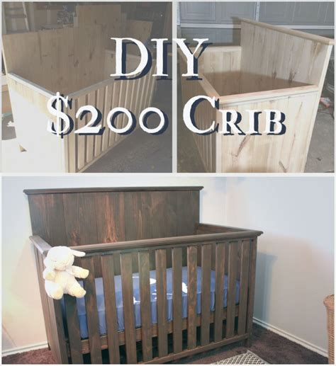 Diy Cribs by How To Build A Crib For 200 On House And Home