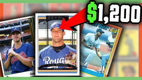 what makes a baseball card valuable error baseball cards worth money valuable cards to
