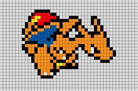 charizard pokemon pixel art – brik