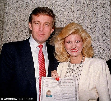 donald trump first wife donald trump to be a grandfather again as his son