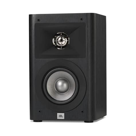 studio 220 powerful 2 way 4 inch bookshelf speakers