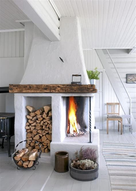 Fireplace Home Decor 25 cool firewood storage designs for modern homes