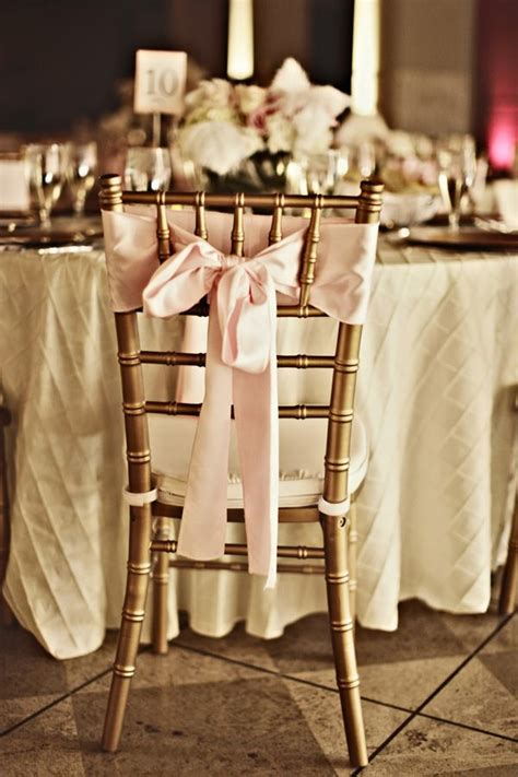 pink and gold chair sashes gold chiavari chair primrose sash ivory pintuck linen