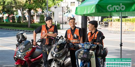 Grab Bike Jaket Murah 1 grab launches grabbike win in bangkok for faster rides and greater connectivity between local
